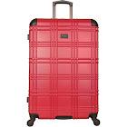 Ben Sherman Nottingham Lightweight Hardside Spinner Suitcase - Red