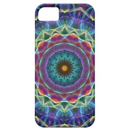 Inward Flower kaleidoscope iPhone 5 Case