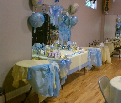 Living Room Decorating Ideas Baby Shower Cake Table