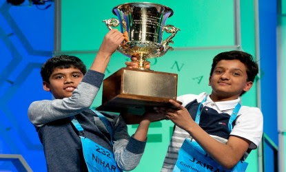 Two Indian-origin students win US spelling bee contest 2016