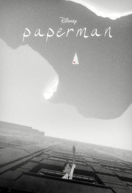 Disney Paperman - Oscar Winning Short Animated Film Poster
