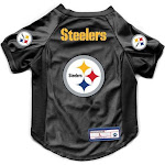 The Pittsburgh Steelers | Pet Stretch Jersey | Size L | Gold | Little Earth