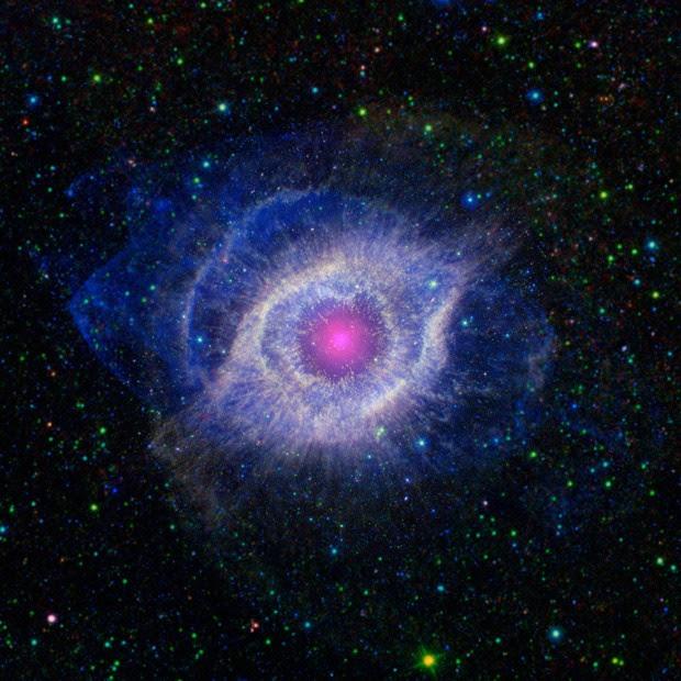 nebulosa hélice (Foto: NASA/AP)