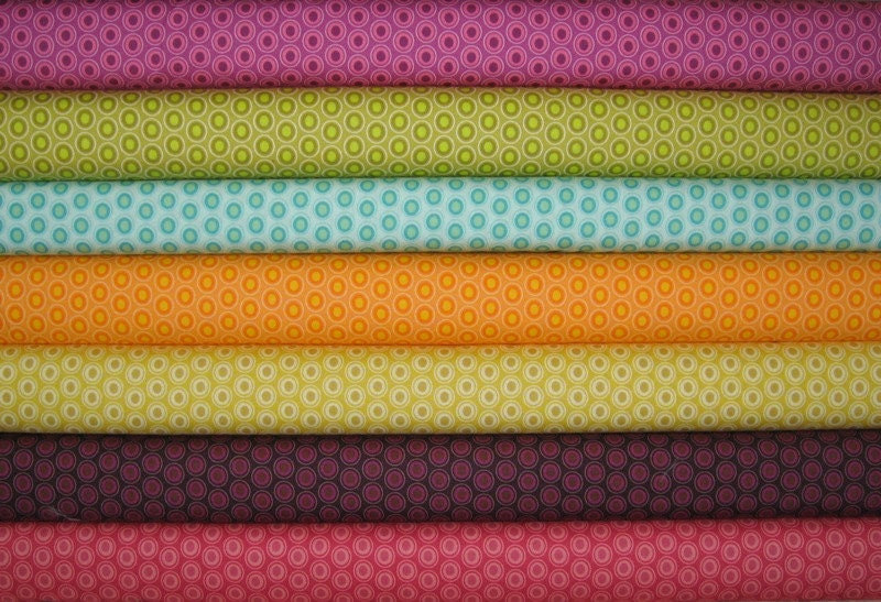 1/2 Yards Art Gallery Oval Elements Dots 3.5 YARDS TOTAL