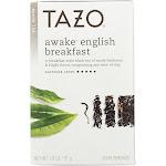 Tazo Black Tea, Awake English Breakfast, Filterbags - 20 filterbags, 1.8 oz