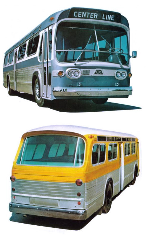 """GM's """"New Look"""" Bus"""