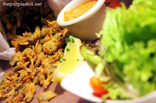 Crispy Clams with Spicy Lemon Dip