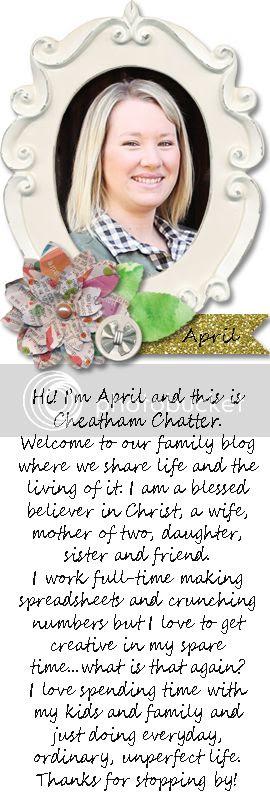 Hi! I'm April