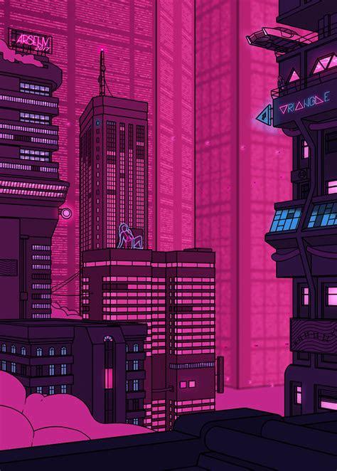 late night aesthetics   pixel animation pixel art