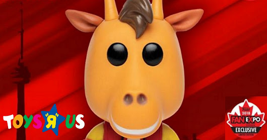 Toys 'R' Us Mascot Geoffrey Gets a New (And Weird) Funko Pop - The Week In Nerd