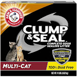 Arm & Hammer Cat Litter Clump & Seal Multi-Cat - 19lbs