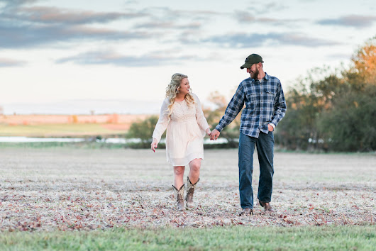 Kansas Country Engagement Session | Valerie & Isaac