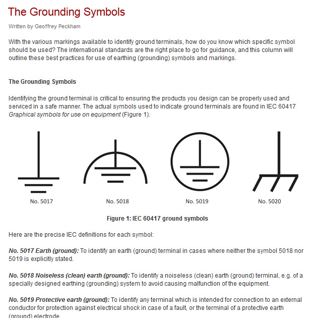 Electrical diagram ground symbol circuit diagrams ccuart Choice Image