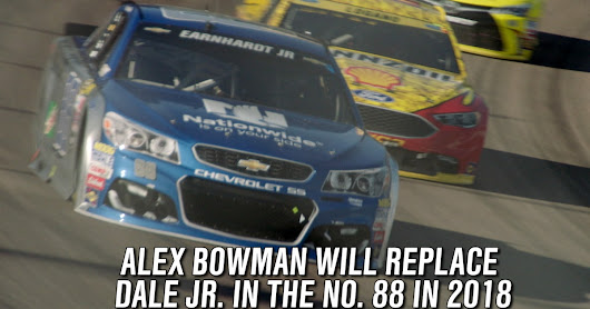 Alex Bowman to replace Dale Earnhardt Jr. in the No. 88  | FOX Sports