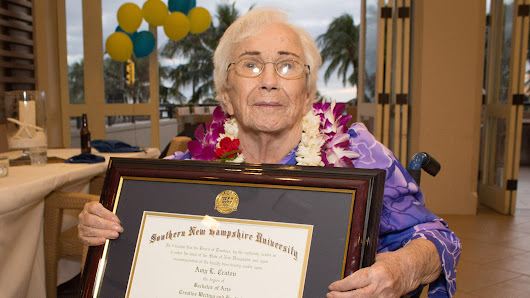 50 years later, 94-year-old graduates college with 4.0 GPA
