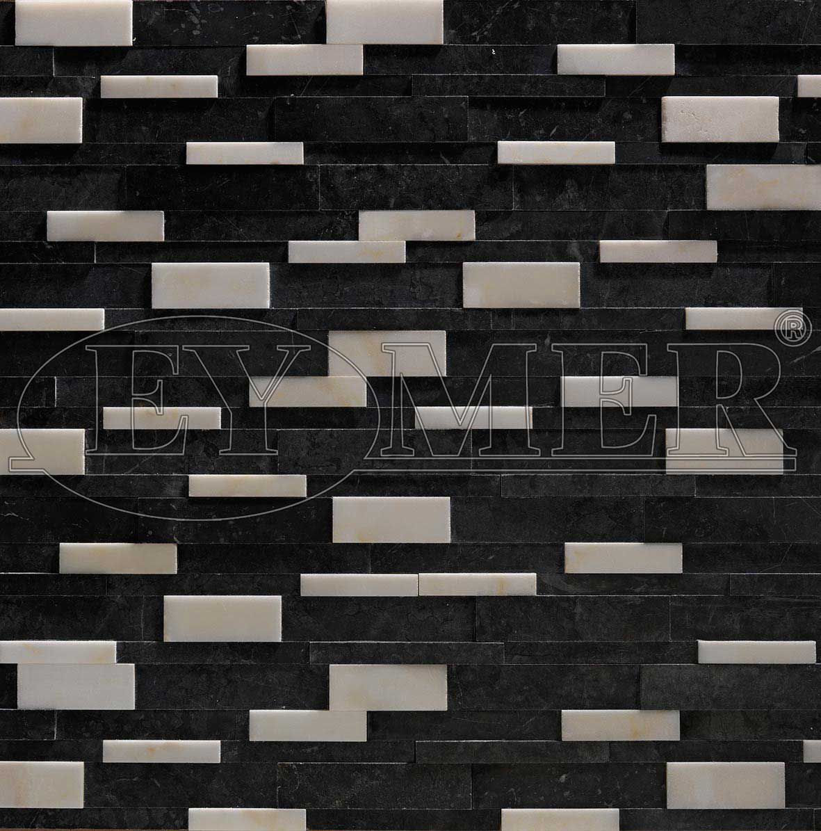 Marble Wall Cladding Outdoor Indoor Decorative Black Marble