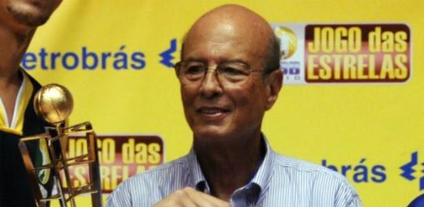 Ary Vidal, ex-técnico da seleção brasileira de basquete