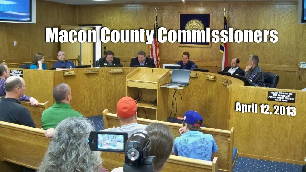 Macon County Commissioners 04-12-2013
