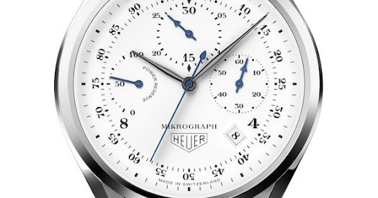 TAG Heuer Unveils Mikrograph 1/100th of a Second Automatic Chronograph in honor of the 100th anniversary of the first Micrograph introduced in 1916. | Pinteres…