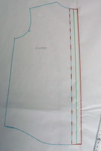 3 - voorpand en deel knopenbies aan elkaar geplakt