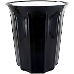 Full Circle Breeze OdorFree Countertop Compost Collector .85 Gallon Black & White