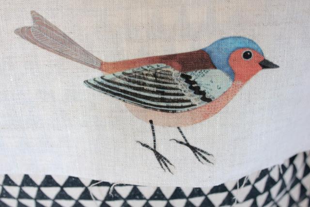 Iron on bird