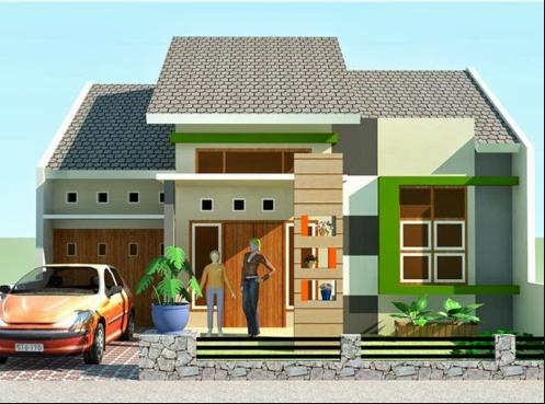 desain rumah 2 lantai lebar 10 meter - sekitar rumah