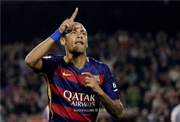 برشلونة يتعلق بقشة نيمار حتى عودة ميسي