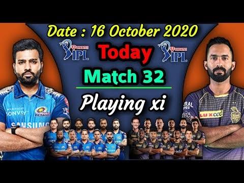 IPL 2020 - Match 32 | Mumbai Indians vs Kolkata Knight Riders Playing xi | KKR vs MI Playing 11