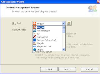 Choosing Blog Service