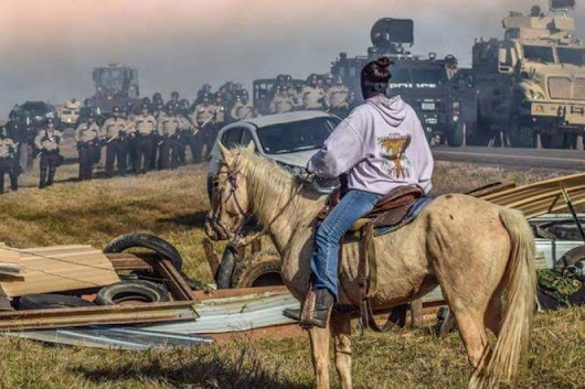 Click here to support Veterans for Standing Rock #NoDAPL by Wesley Clark