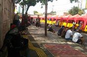 Trotoar di Jalan Jatibaru Tanah Abang Mulai Sepi PKL