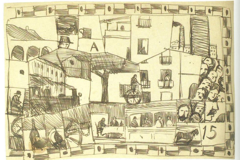Cuadro 'Barcelona 1917'