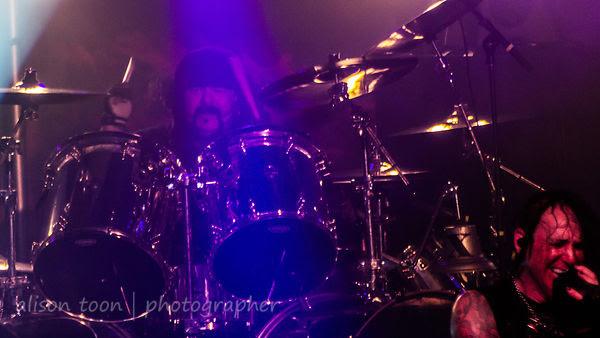 Vinnie Paul, drums, HELLYEAH