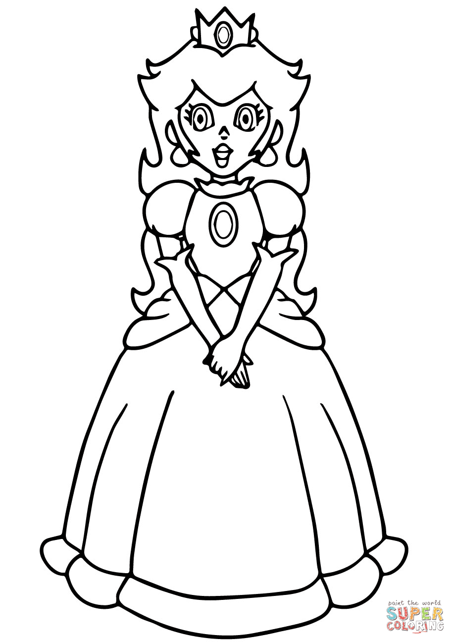 the Super Mario Princess Peach
