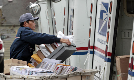 Trump's Postal Task Force Report Receives Tepid Response From Key Players