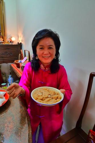 Mom loves the mochi