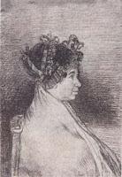Busto de doña Josefa Bayeu, de Goya