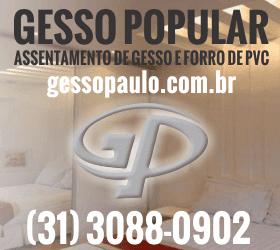 Gesso Popular - Assentamento em Gesso e forro de PVC em BH