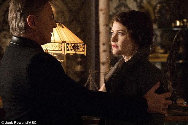 End of the affair: Robert Carlyle will be back for next season as Mr. Gold, aka Rumpelstiltskin, but his love interest, Emilie de Ravin as Belle, will not