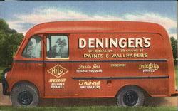 Wallpaper Delivery Van