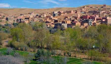 vallée du Dadès - Sud maroccain