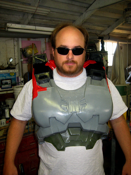 torso armor test fit
