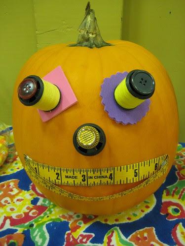 notion pumpkin by Rebecca