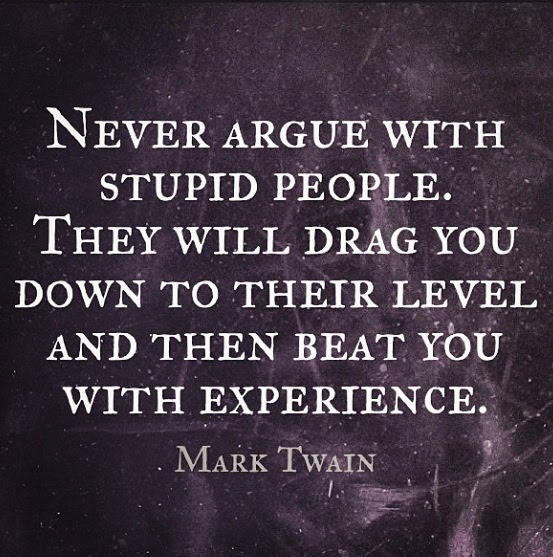 Lovely Mark Twain Stupid People Quote