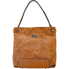 Cameleon Lynx Concealed Carry Purse Relaxed Tote Tan