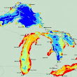 Researchers map 34 threats to the Great Lakes