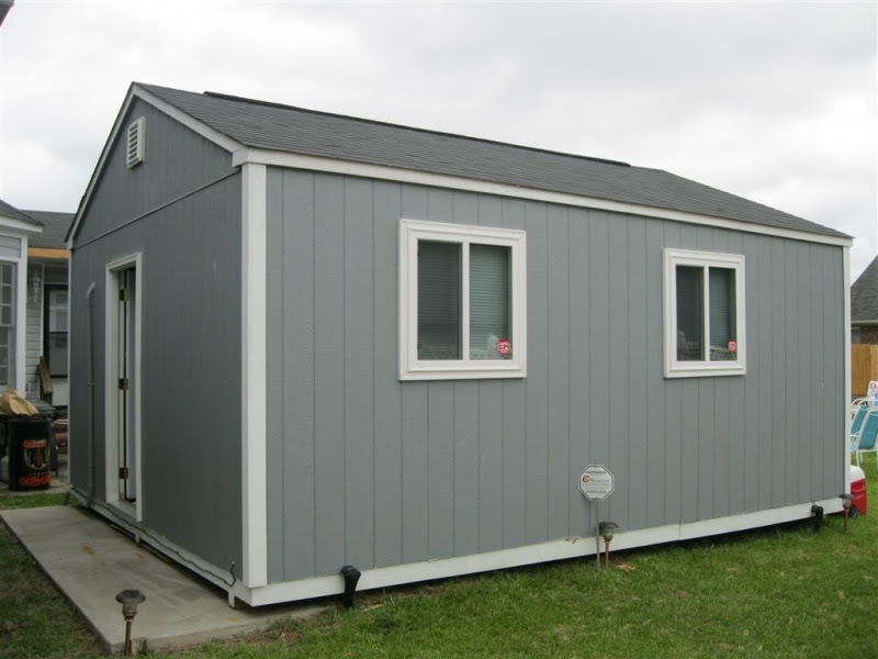 16 x 20 Shed Plans