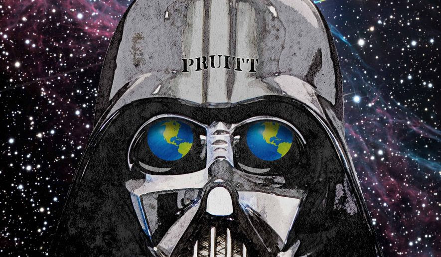 Attack on the Earth by the Evil Empire Illustration by Greg Groesch/The Washington Times