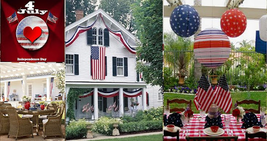 How to Decorate Your Outdoors in a 4th of July Theme